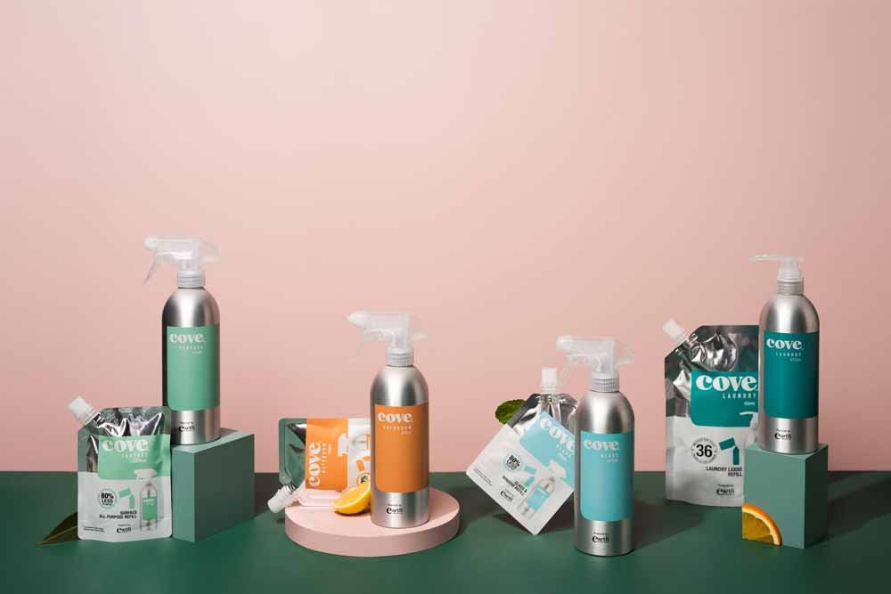 Cove inspires sustainable cleaning through good design
